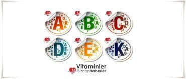 Vitaminler ve Faydaları  (A|D|E|K|B|C)