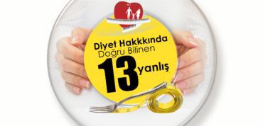 Diyet Hakkında Doğru Bilinen 13 Yanlış !